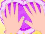 Блестящие ноготки Малышки Барби