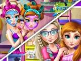 Реальный макияж молодых Анны и Эльзы