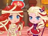 Игра Розыгрыши во время чиби-хеллоуина