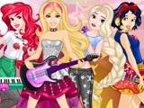 Барби в рок-группе Диснея
