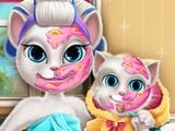 Игра Мейк-ап для мамочки Анджелы