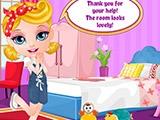 Декорация комнаты Малышки Барби