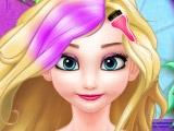 Окрашивание волос Эльзы