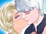 Поцелуй Эльзы и Джека Фроста