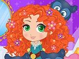 Чиби-принцессы диснея