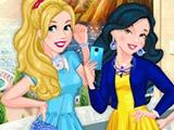 Игра Прекрасные принцессы в колледже