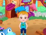 Малышка Хейзел в дино-парке