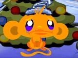 Игра Счастливая обезьянка: новогодняя ёлка