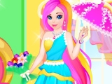 Радужная принцесса и салоны красоты