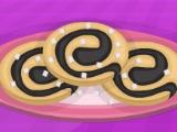 Шоколадное печение «Колесо»