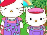 Наряд для Hello Kitty и её мамы