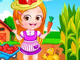 Наряд фермера для Малышки Хейзел