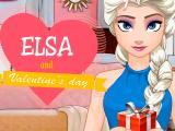 Эльза и День святого Валентина