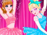 Игра Кастинг Эльзы и Анны на балет 2