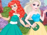 Двойное свидание принцесс Диснея