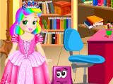 Принцесса Джульетта в школьной библиотеке