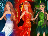 Барби - элементальная принцесса