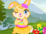 Милый пасхальный кролик