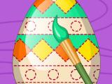 Раскрашиваем яйца с малышкой Эльзой