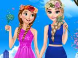 Весенние одежды Анны и Эльзы