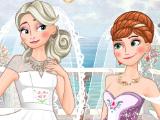 Игра Двойная свадьба Анны и Эльзы