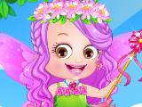 Игра Малышка Хейзел - цветочная принцесса