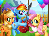 Праздник на ферме My Litle Pony