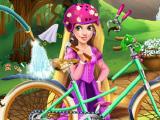 Ремонтируем велосипед Рапунцель