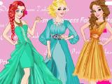 Принцессы Диснея - модные звезды