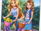 Игра Велосипедная прогулка принцесс