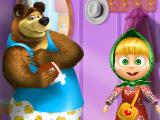 Одеваем Машу и Медведя