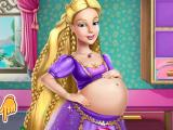 Беременная Барби-Рапунцель