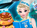 Эльза готовит сладости