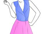 Шьем наряд для блоггера моды