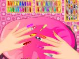 Гламурные ноготки Супер-Барби
