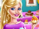 Барби - продавец десертов