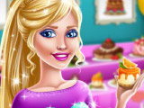 Игра Барби - продавец десертов