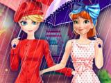 Игра Эльза и Анна: шоппинг в Париже