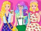Выходная одежда Барби