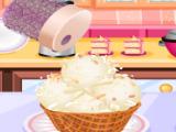 Кокосовое мороженное