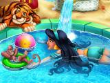 Жасмин в бассейне