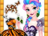 Игра Эльза - королева бабочек