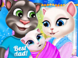 Семейный портрет Анджели и Тома