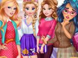 Игра Снова в школу: сбор принцесс