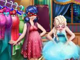 Игра Леди Баг и Эльза: Гардероб для беременных