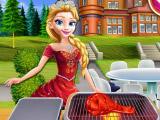 Игра Гриль-пикник принцесс