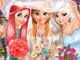 Невеста и её подружки: одевалка