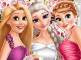 Игра Эльза и принцессы на свадьбе
