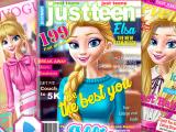 Эльза на обложке журнала