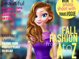 Игра Эльза на обложке модных журналов